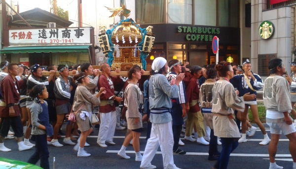 Local festival - Shinjuku